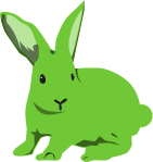 ウサギのイラスト18