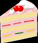 ケーキのイラスト1