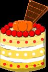 ケーキのイラスト12