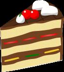 ケーキのイラスト2