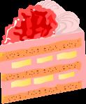 ケーキのイラスト7