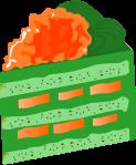 ケーキのイラスト8