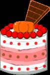 ケーキのイラスト9
